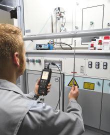 Luftmengen im Laborazug